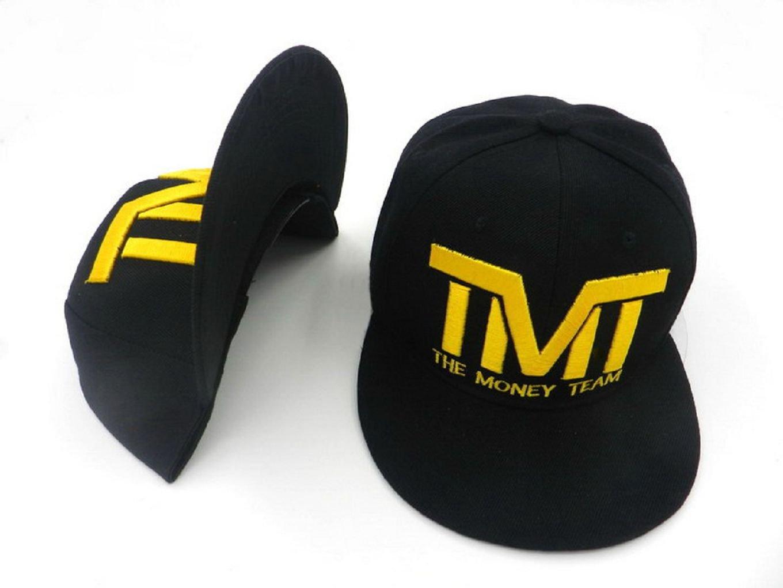 Amarillo Logo de The Money Team hyst eresen Negra sombrero tapa ...
