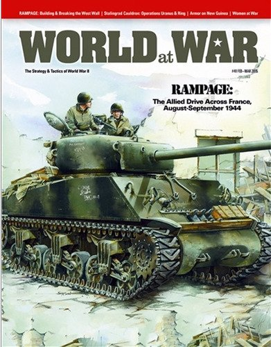 DG: World at War Magazine #40, with Rampage and Stalingrad Cauldron Board Games (Rampage Board)