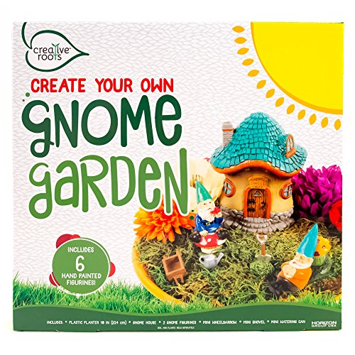 Creative Roots Create Your Own Gnome Garden by Horizon Group USA