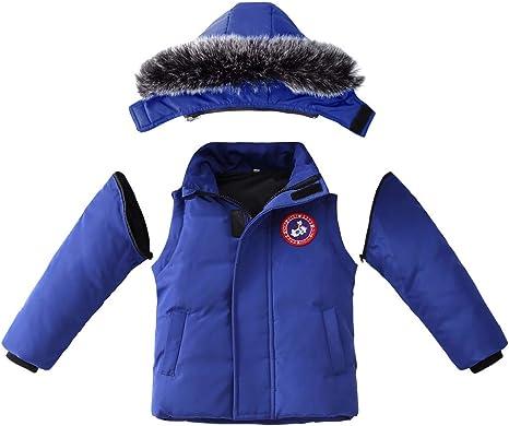 Boys Winter Coats Warm Down Jackets For Girls Children
