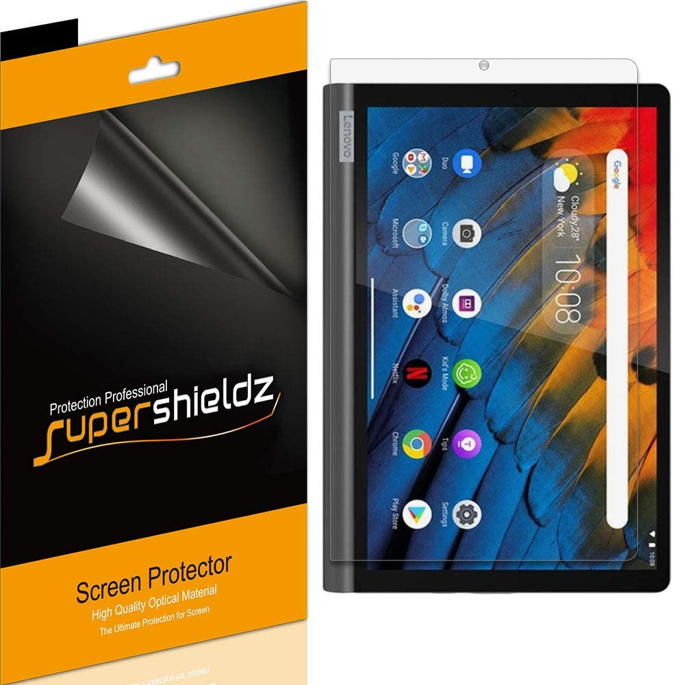 (3 Pack) Supershieldz for Lenovo Yoga Smart Tab 10.1 inch Screen Protector Anti Glare and Anti Fingerprint (Matte) Shield