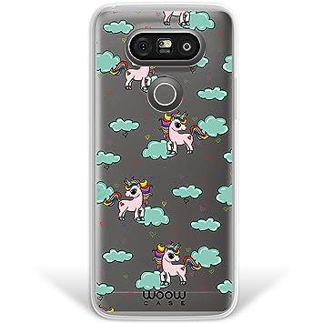 WoowCase Funda LG G5, [Hybrid] Unicornios Arcoiris Colección ...