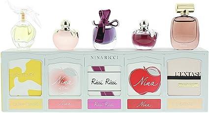 Nina Ricci Mini colección 5 edt/EDP Spray, 4 ml: Amazon.es: Belleza