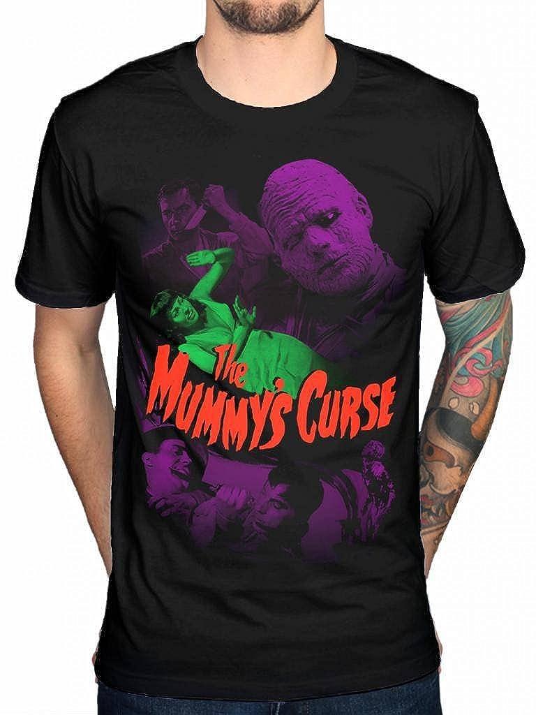 Official Plan 9 The Mummys Curse T-Shirt Vlad Dracula Wolfman Horror Band