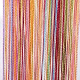 Tangpan 7 Color Colorful Door String Thread Fringe Window Panel Room Divider Curtain Strip Tassel by Tangpan