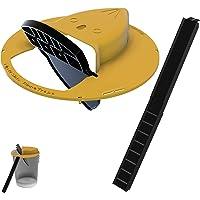 RinneTraps Flip N' Slide Bucket Lid Mouse/Rat Trap | Humane or Lethal | Trap Door Style | Multi Catch | Auto Reset…
