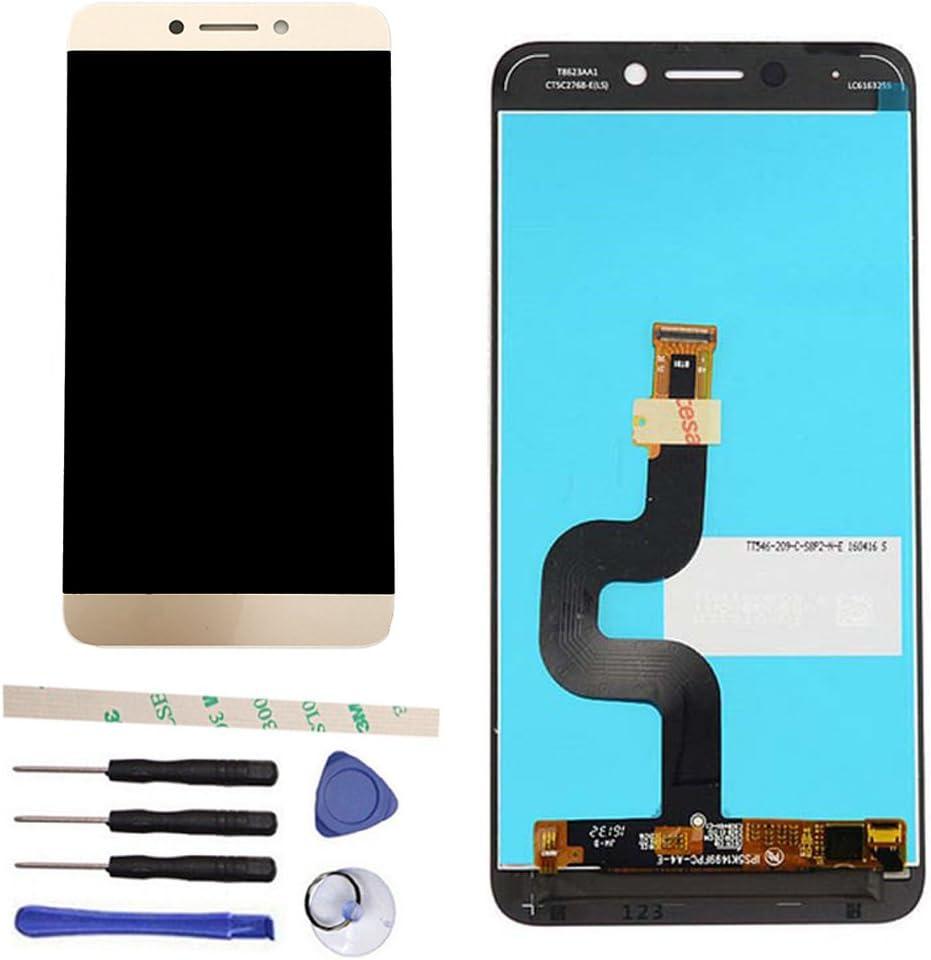 Draxlgon General Completa Reparación y reemplazo LCD Display Pantalla táctil digitalizador Asamblea para Letv LeEco Le S3 X 622 X626 X 522 X532 (El Oro): Amazon.es: Electrónica