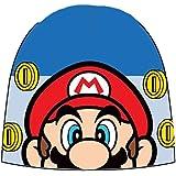 Nintendo Super Mario Bros. Mütze in Rot, Schwarz oder Blau Gr. 52 oder 54