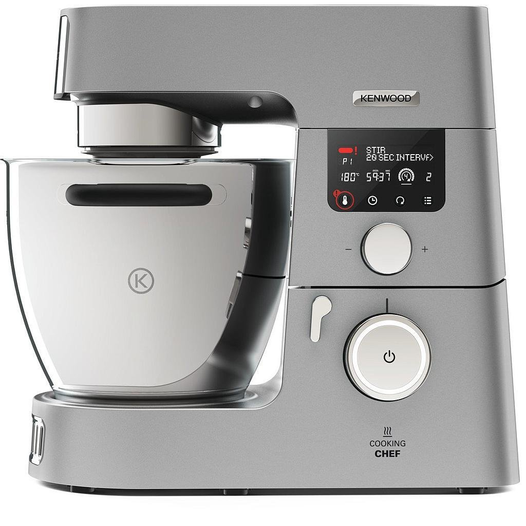Kenwood KCC9068S Cooking Chef Gourmet - Impastatrice, 1500 W, 7 Lt.