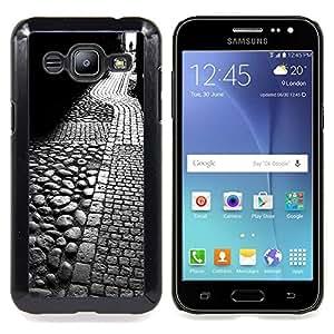 "Planetar ( Noche minimalista Muchacha Romántica"" ) Samsung Galaxy J2 / J200 Fundas Cover Cubre Hard Case Cover"