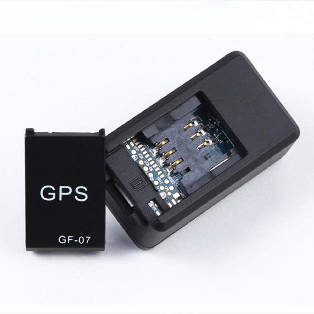 Gugutogo GF07 Magnetic Mini Tracker de Coche GPS Localizador de Seguimiento en Tiempo Real Dispositivo Localizador de GPS magn/ético Localizador de veh/ículo en Tiempo Real
