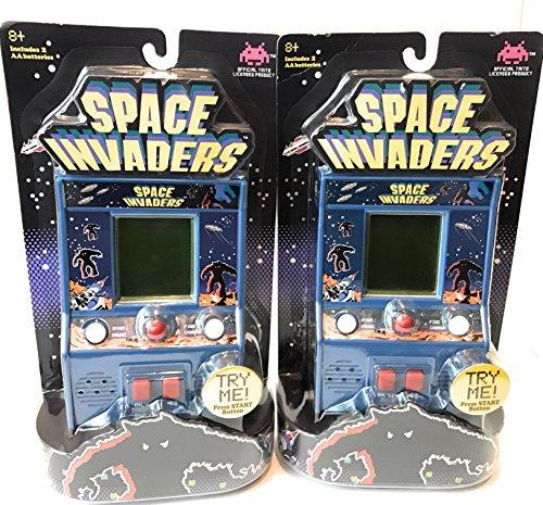Taito Mini (Space Invaders Mini Arcade Game (Pack of 2))