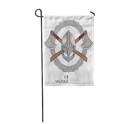 Amazon.com: Semtomn - Bandera de jardín de 12 x 18 pulgadas ...