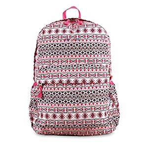 J World New York Kids' Oz Campus Backpack, Skandi Pink