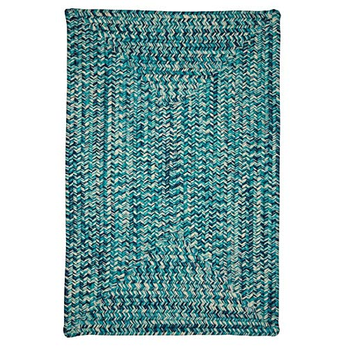 Colonial Mills Catalina CA99R024X048R Rugs, 2' x 4', Blue Lagoon from Colonial Mills