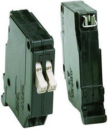 Eaton CHT1515 Cutler Hammer Circuit Breaker 15 15 Amp 8 Space 120 V Bulk, COLOR