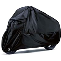 Funda para Motocicleta, Orangeone 190T Fundas para Moto Impermeables con Orificios de Bloqueo, Fundas de Protección…