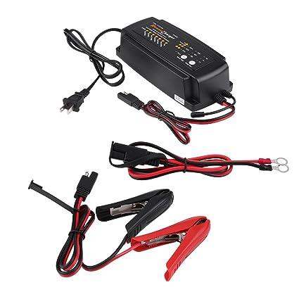 Cargador de batería automático inteligente 12 V 2/4/8 A 7 pasos 3 ...
