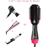 EMISK 3-IN-1 Negative Ionic Blow Dryer Brush