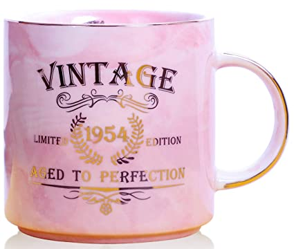 1954 65th Birthday Gifts For Women And Men Ceramic Mug