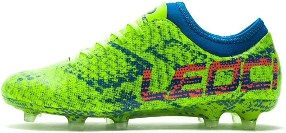 Men and Boy Soccer Shoes Outdoor Soccer Cleat Leoci Performance Soccer Shoes