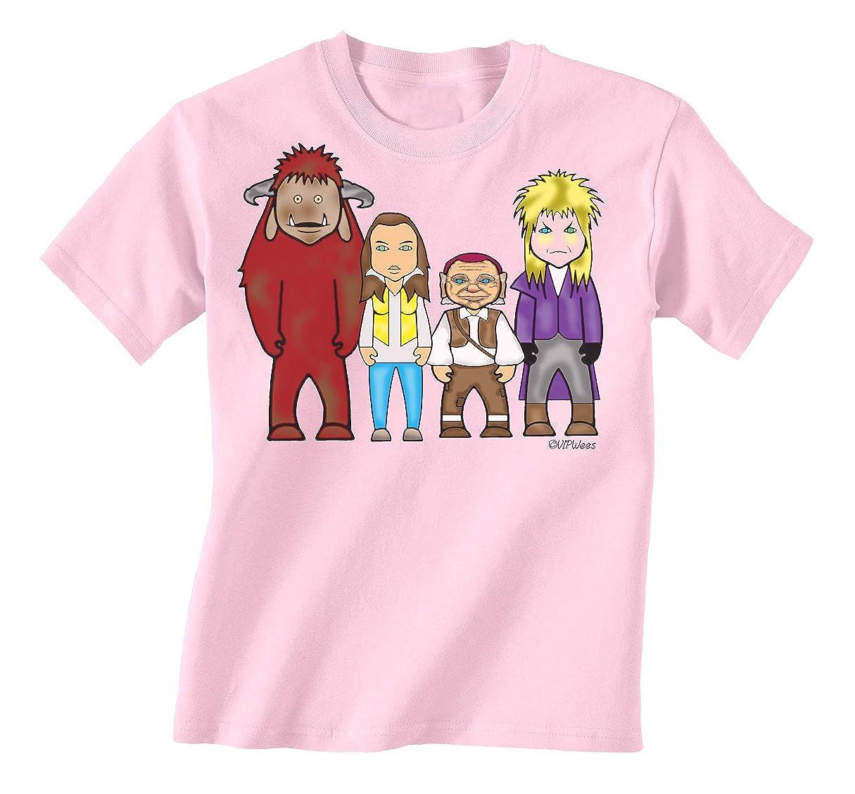 VIPwees Goblin Maze Childrens unisex kids movie T-Shirt boy/girl caricature gift