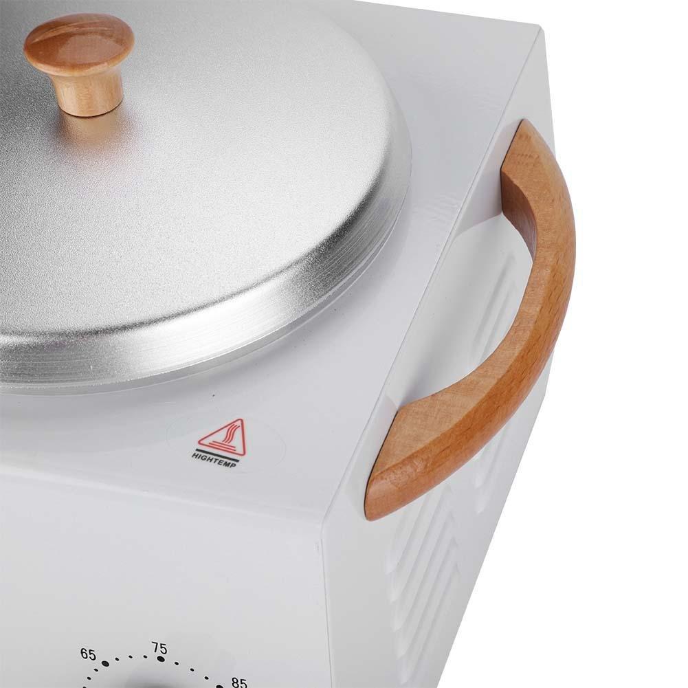 150W Calentador de cera nuevo, Calentador de cera casero Control de temperatura ajustable(Blanco): Amazon.es: Belleza