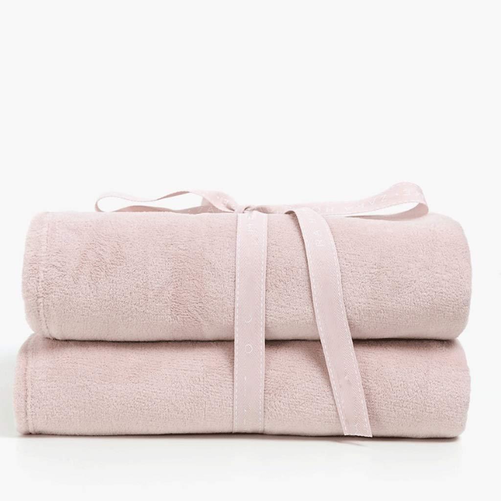 フランネルフリース高級毛布投げサイズ軽量居心地の良い豪華なマイクロファイバー固体毛布 (色 B07Q8KR32G : さいず ピンク, サイズ さいず (色 : 230X250cm) 230X250cm ピンク B07Q8KR32G, ユウチョウ:c9ac4640 --- ijpba.info