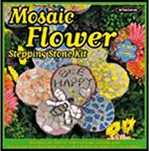 Milestones Mosaic Flower Stepping Stone Kit