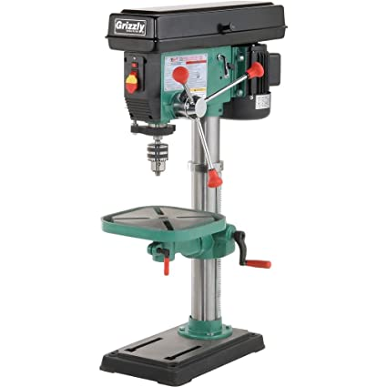 grizzly g7943 12 speed heavy duty bench top drill press grizzly rh amazon com