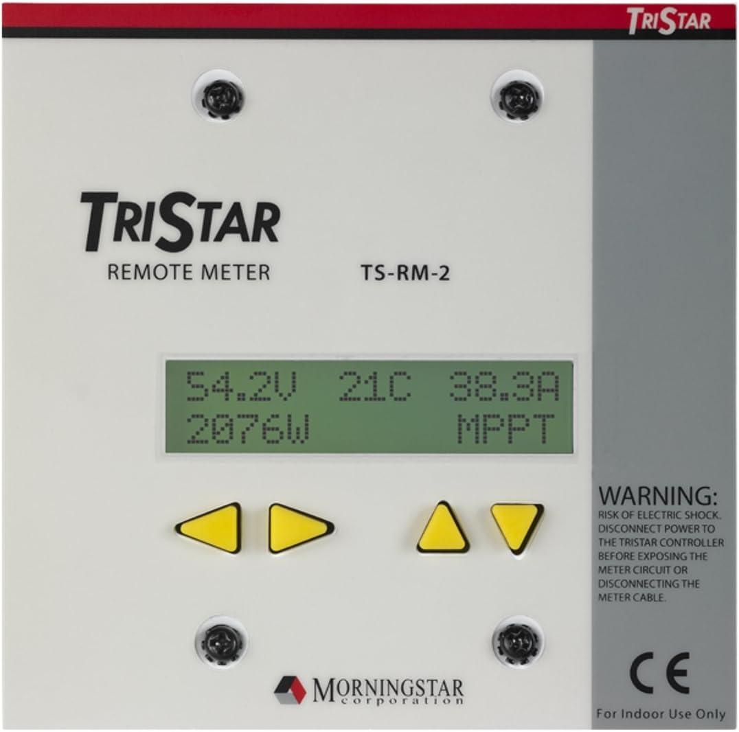Morningstar Tristar Remote LCD Digital Compteur pour tous les Tristar solaire contrôleurs