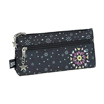 Busquets - Estuche escolar doble sparkly: Amazon.es: Oficina ...
