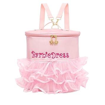 Amazon.com: Rosa Ballet para Niñas. lindos lazo bordado ...