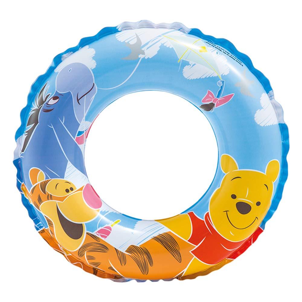 Intex Winnie the Pooh Flotador hinchable para ni/ños de 3 a 6 a/ños 51 cm di/ámetro flotador