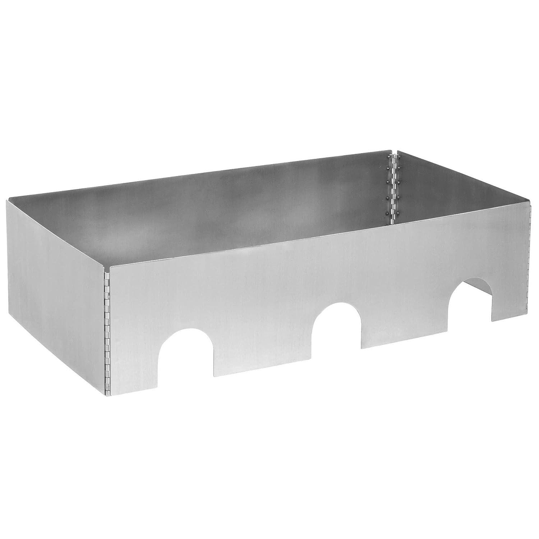 Mesa King caterware cw603brs 3-well plegable acero inoxidable ...