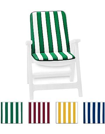 Sedie Spiaggia Pieghevoli Carrefour.Amazon It Cuscini Per Sdraio Da Giardino