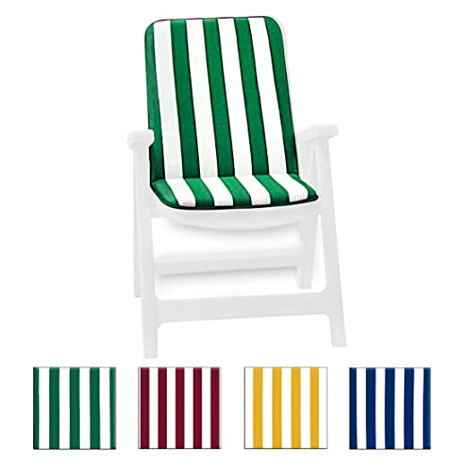 Cojín alto universal para silla, suave, de rayas plegable ...
