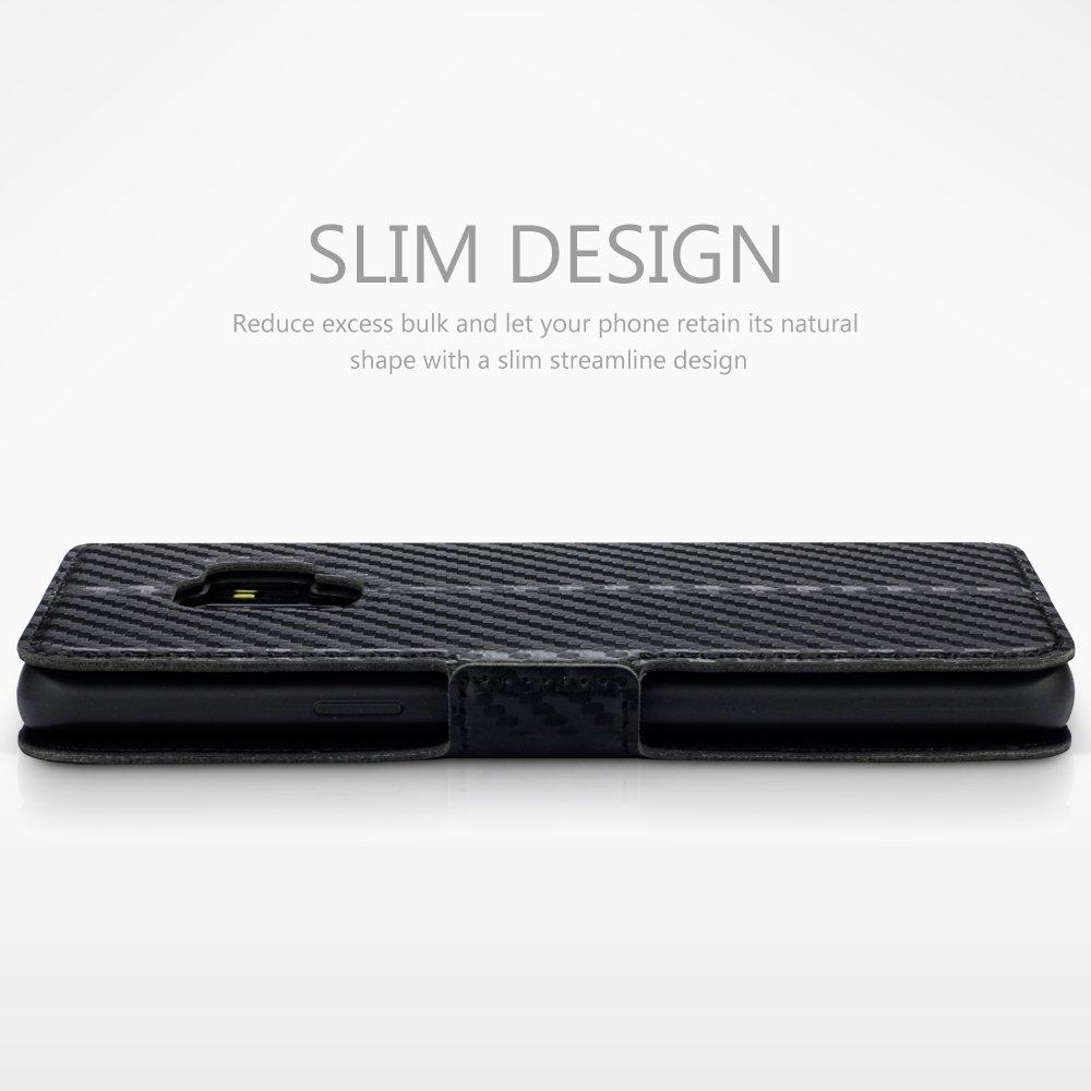 TERRAPIN Coque Samsung S9, Étui Housse en Cuir Ultra-mince Avec La ... f9f40c70537