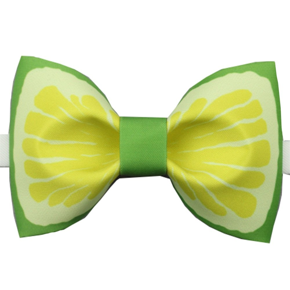 Y-WEIFENG Corbata de Lazo para Hombre Corbata de Lazo de limón ...