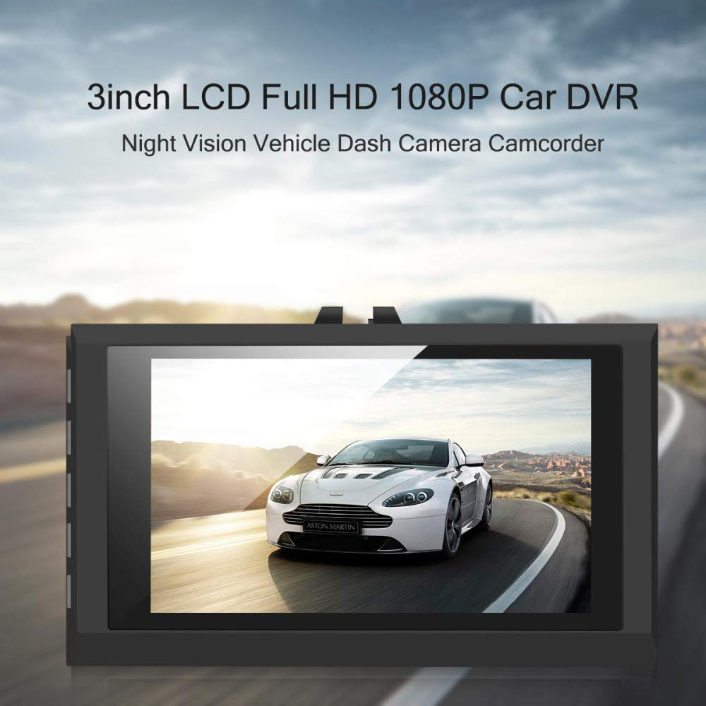 Amazon.com: South Weekend 1080P Night Vision HD G-Sensor Car DVR Vehicle Camera Video Recorder Dash Cam, 140 Degree A + HD Ultra Wide Angle,Display Screen ...