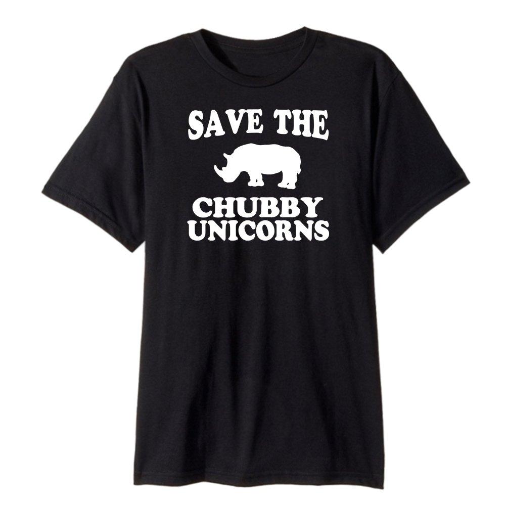 Save The Chubby Unicorn Premium Men's T-Shirt Cotton Tee