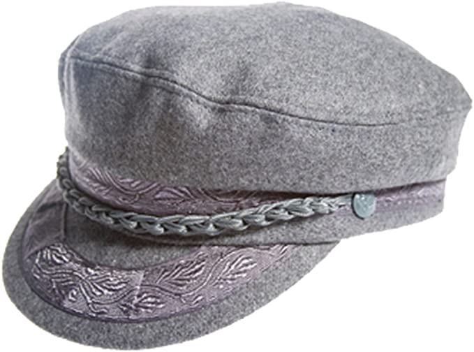 2019 Hats Men/'s Greek Fisherman Sailor Fiddler Winter Wool Driver Hat Flat Cap