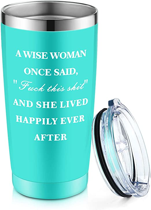 Amazon.com: Vaso de vino, divertido regalo de cumpleaños ...