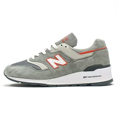 new balance 997 grey and orange