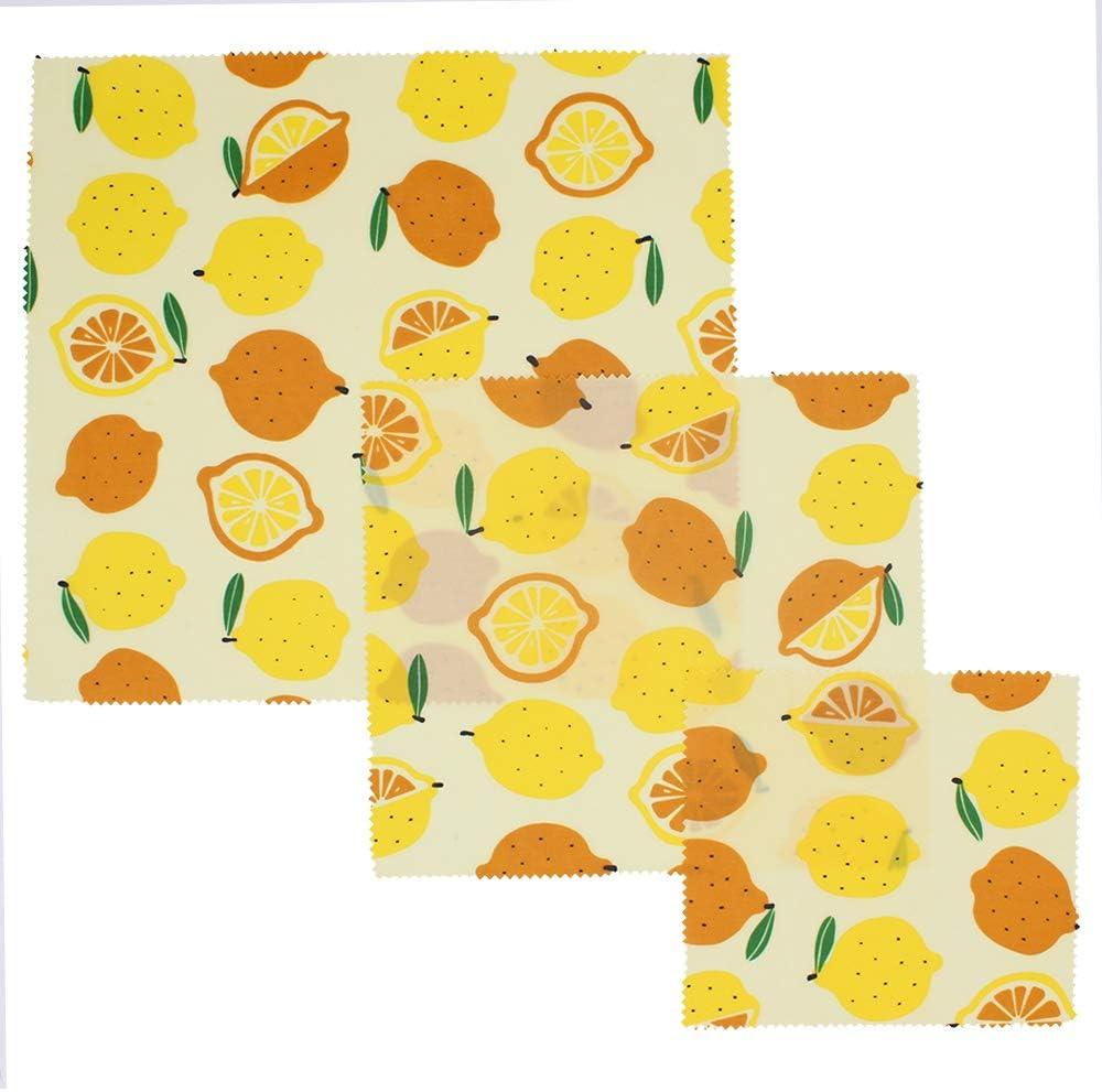 wiederverwendbares Bienenwachs-Tuch nicht-plastische Bio-Lebensmittelverpackung der FDA Bio-Bienenwachs-Lebensmittelverpackungstuch aus 100/% Baumwolle
