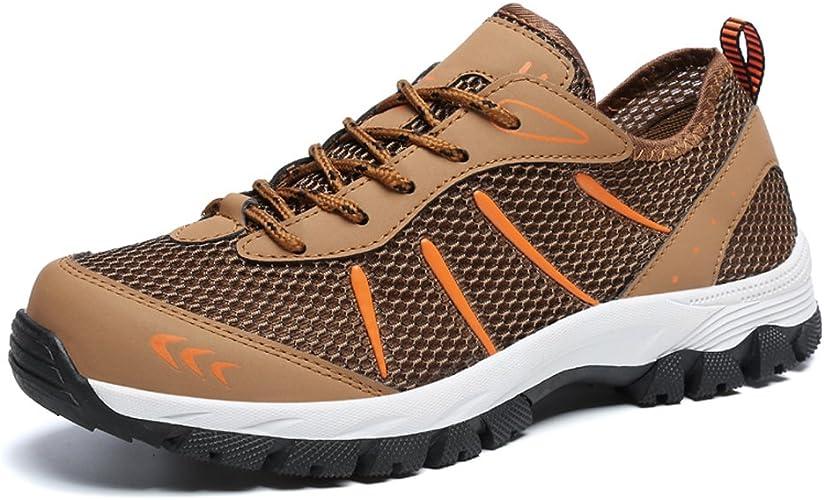 Gaatpot Casual Zapatos para Hombre de Trekking Sneakers Ligeros Running Zapatilla Senderismo para de Deporte Exterior para Suela Antideslizante 39-48: Amazon.es: Zapatos y complementos
