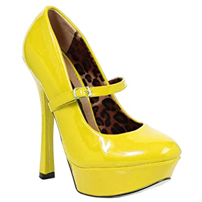 455e0d21f68c2 Amazon.com | 6 Inch Platform Mary Jane Pump Shoes Womens High Heel ...