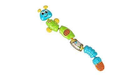 8483e73f88cbc Amazon.com  Fisher-Price Brilliant Basics Snap-Lock Caterpillar ...