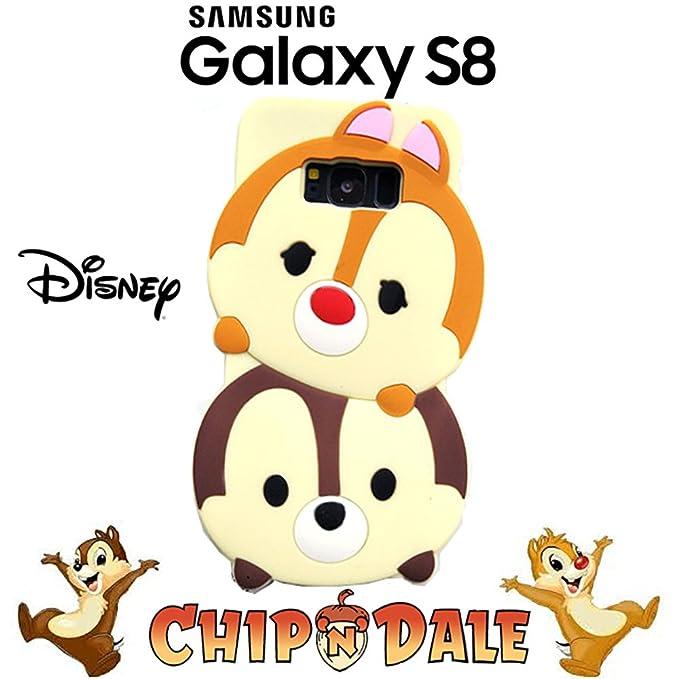 Funda Carcasa 3D Disney Tsum Tsum Chip y Chop de Silicona ...