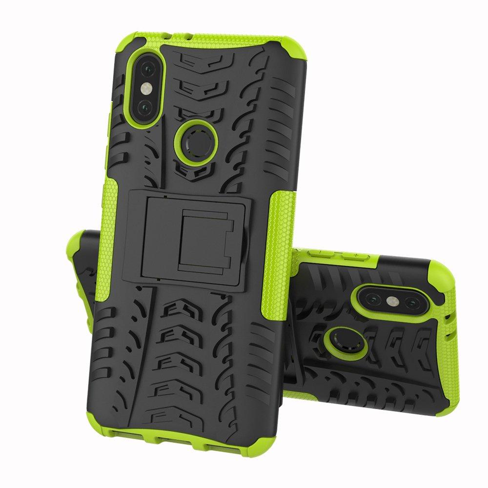 Redmi 5, Rosa Max Power Digital Xiaomi Funda Heavy Duty H/íbrida Rugged Armor Case Choque Absorci/ón Protecci/ón Dual Layer Bumper Carcasa con Pata Trasera para Xiaomi